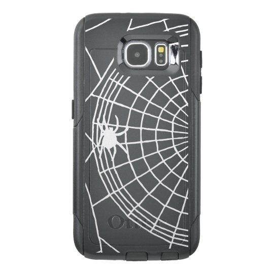Square Spider Web, Scary Halloween Design OtterBox Samsung Galaxy S6 Case