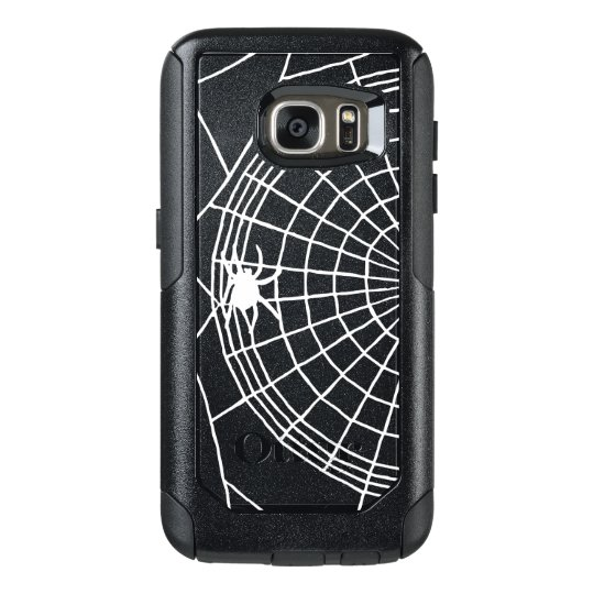 Square Spider Web, Scary Halloween Design OtterBox Samsung Galaxy S7 Case