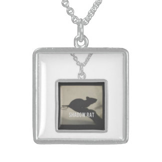 Square Sterling Silver Pendant/Necklace Sterling Silver Necklace