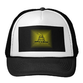 Square Sunburst Gadsden Flag Trucker Hat