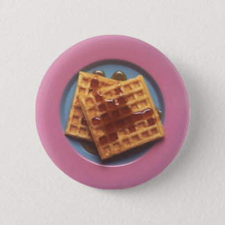 Square Waffle Button