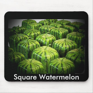 Square Watermelon Mouse Pad