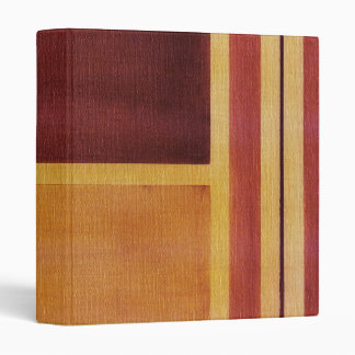 Square with Lines 2 3 Ring Binder