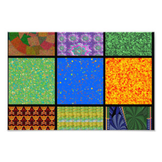 Squared Check ART Seasons Graphics GIFTS share Photographic Print