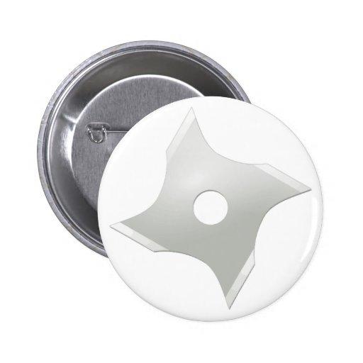 Squared ninja star button
