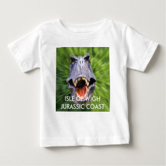 SquareDinosaurs8, ISLE OF WIGH JURASSIC COAST Baby T-Shirt