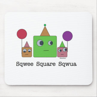 SquareFamily_monsters.012.015 Mouse Pad