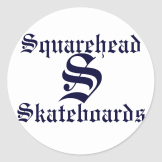 Squarehead Skateboards Sticker
