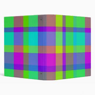 Squares 3 Ring Binder