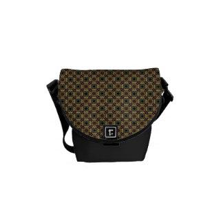 Squares and Diamonds Courier Bag