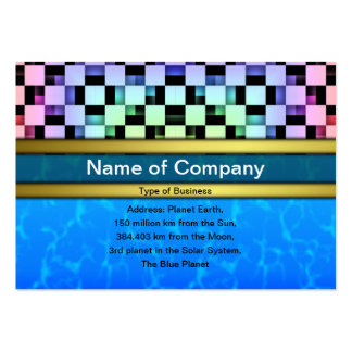 Squares Pack Of Chubby Business Cards
