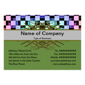 Squares Business Card Templates