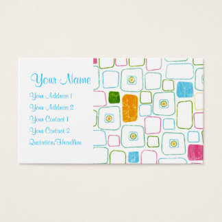 Squares - Customized Business Card