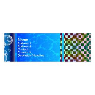 Squares Inverted Alternate Business Card