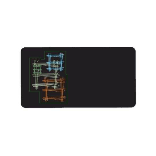 Squares Label