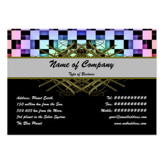 Squares Large Business Card