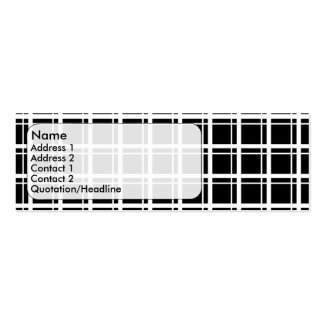 squares mini business card