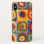 Squares with Concentric Circles by Kandinsky iPhone X Case