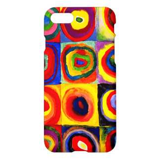 Squares with Concentric Circles Kandinsky iPhone 8/7 Case