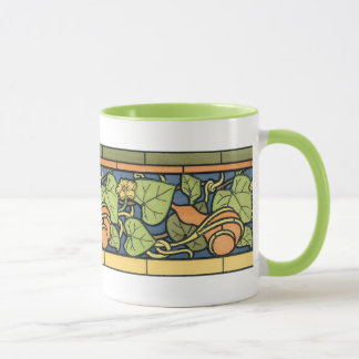 Squash and Blossom mug