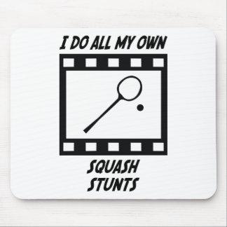 Squash Stunts Mouse Pads