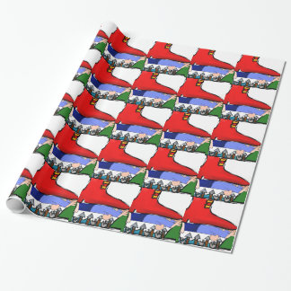 SQUASHED WRAPPING PAPER