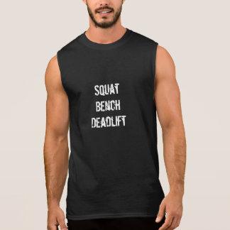 Squat Bench Deadlift Men's Tank in Black