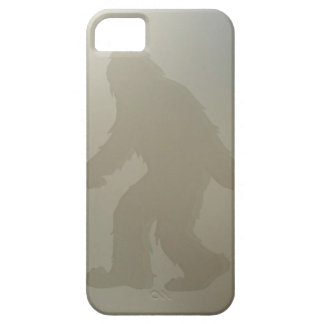 Squatch behind frosted glass iPhone 5 case