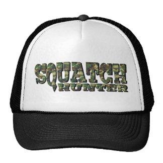 Squatch Hunter - Camo Pattern Mesh Hat