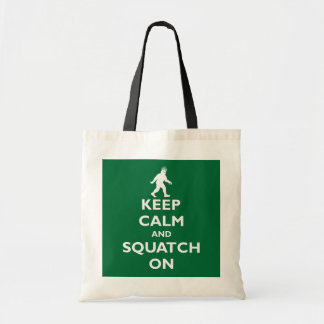 Squatch On Tote Bag
