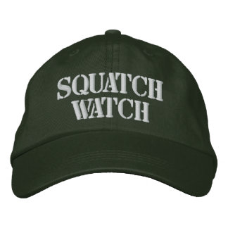 SQUATCH WATCH EMBROIDERED BASEBALL CAP
