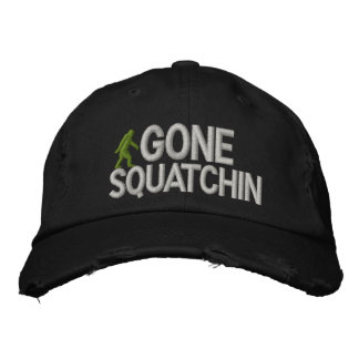 Squatchin allé casquettes de baseball brodées