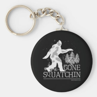 Squatchin allé porte-clé