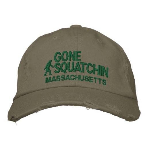 Squatchin et votre état personnalisés casquettes de baseball brodées