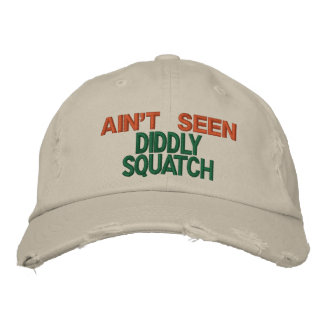 Squatchin Stakeout Embroidered Hats