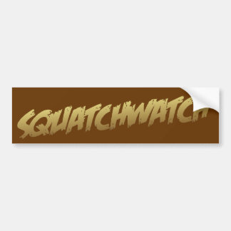SQUATCHWATCH Bumper Sticker