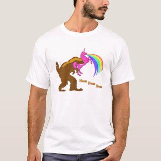 Squatchy Badger Eating Unicorn T-Shirt