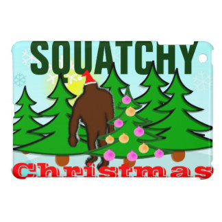 Squatchy Christmas Squatch iPad Mini Cases