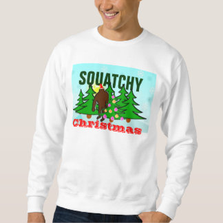Squatchy Ugly Christmas Sweater