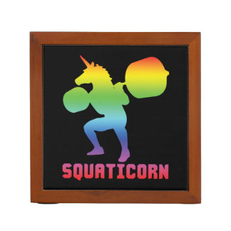 Squaticorn - Leg Day - Squat Unicorn - Workout Desk Organizer