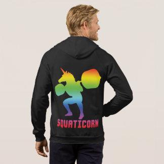 Squaticorn - Leg Day - Squat Unicorn - Workout Hoodie