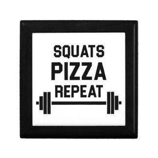 Squats Pizza Repeat Gift Box