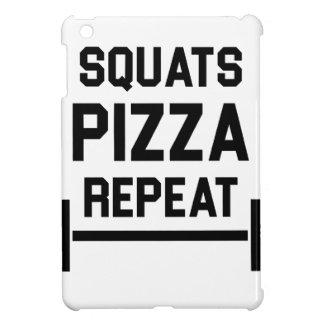 Squats Pizza Repeat iPad Mini Case