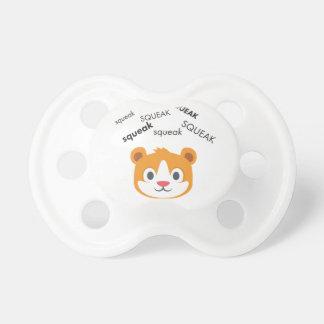 Squeak Hamster Cute Emoji Pacifier