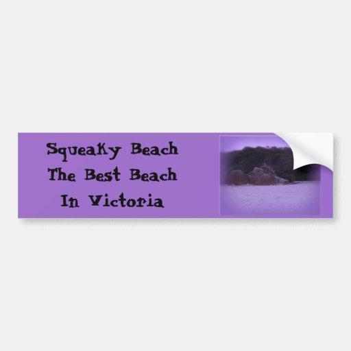 Squeaky Beach 4 Bumper Sticker