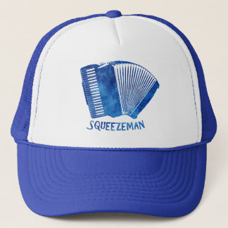 Squeeze Man Trucker Hat