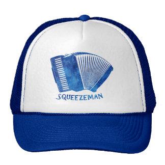 Squeeze Man Trucker Hats