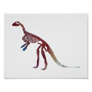 squelette de hypsilophodon poster
