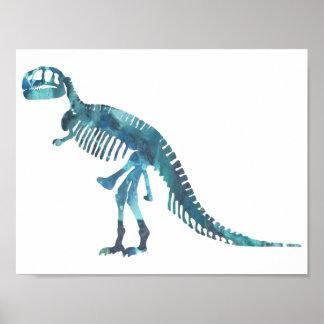 Squelette de Tyrannosaurus Poster