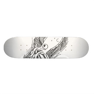 squid custom skate board